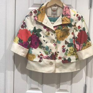 Ted Baker Floral Jacket & Shorts
